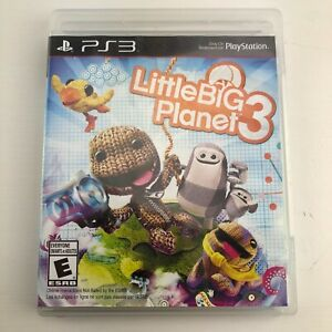 LittleBigPlanet 3 (Sony PlayStation 3, 2014) PS3 TESTED Little Big Planet
