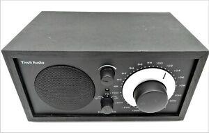 Tivoli Audio MODEL ONE AM/FM Table Radio Henry Kloss ALL BLACK WORKS PERFECTLY!