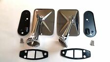 1970 1971 1972 Chevy Pick Up Truck Outside Door Rear View Mirror Blazer Pair