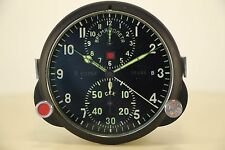 Good! Russian Soviet USSR Military AirForce Aircraft Cockpit Clock AChS-1!