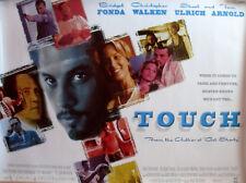 Cinema Poster: TOUCH 1998 (Quad) LL Cool J Christopher Walken Skeet Ulrich