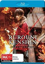 Rurouni Kenshin Kyoto Inferno NEW B Region Blu Ray