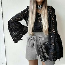 Zara Houndstooth Check Mini Skirt Size X SMALL BNWT