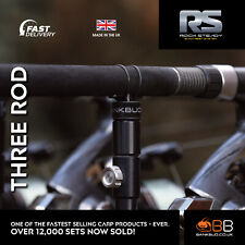NEW Bank BUG Rock Steady Back Rest System V1 for Carp Fishing THREE ROD PACK