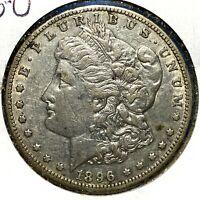 1896-O $1 Morgan Silver Dollar (X59286)