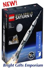 LEGO IDEAS 21309 NASA Apollo Saturn V Moon Landing Eagle Boy Girl Birthday Gift