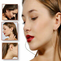 Hypoallergenic Lightweight Hollow Heart Gold Silver Thin Copper Hoop Earrings