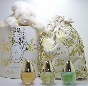M. Micallef Baby s Collection Petit Fleur 3 x 30 ml EDP Spray SET alcohol free
