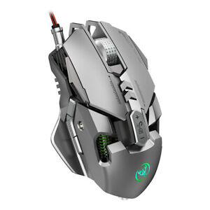 Professional Gaming Mouse 6400DPI Full 7 Programmable Button Mice for Laptop PC