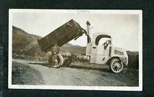 Vintage Photo circa 1919 Mack Bulldog Dump Truck 406092