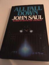 All Fall Down - John Saul: 1st Ed 1983 HB DJ VGC