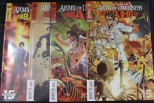 ARMY OF DARKNESS BUBBA HO-TEP 1-4 DYNAMITE COMIC SET COMPLETE DUVALL 2019 NM