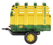 Rolly Toys Large John Deere Green HAY WAGON Tipping large For Rolly Tractors