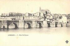 CPA 87 - LIMOGES (Haute Vienne) - 3. Pont St-Etienne - Dos non divisé
