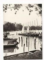 uralte AK Goyatz am Schwielochsee Hafen der BSG Segeln 1971 //30