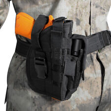 Right Tactical Molle Pistol Holster + Mag Pouch for S&W 3913 9MM P30 P226 9s .45
