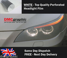 Window Graphic Car Headlight Vinyl Tint Like Fly Eye Mesh Spi Vision Decal White