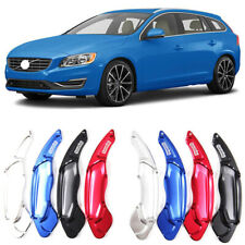 Alloy Steering Wheel DSG Paddle Extension Shifters Cover Fit For Volvo V60 14-17
