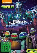 TEENAGE MUTANT NINJA TURTLES: DER SUPER-SHREDDER  DVD NEU