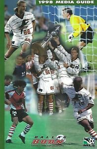 1998 Dallas Burn Major League Soccer Media Guide - MLS #FWIL