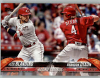 (15) Alex Blandino/Dixon 2018 Topps Update BASE CARD LOT (x15) Reds Rookie #US28