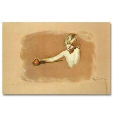 ROYO Nina Con Manzana Ltd. Ed. Hand Signed COA #149/151 No Reserve