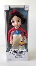 "NIB Snow White Disney Animators Collection Toddler Doll 16"" figure RETIRED"
