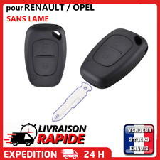 Coque De Clé Plip Pour Renault Trafic Kangoo Opel Master Vivaro Sans Lame