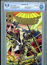 Armorines #0 CBCS Graded 9.8 NM/M Valiant Comics Gold Logo 1994 Amricons