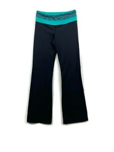 Lululemon Womens Athletic Wide Leg Yoga Pants Black size 6