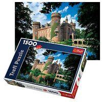 Trefl 1500 Piece Adult Large Moyland Castle Schloss Germany Floor Jigsaw Puzzle