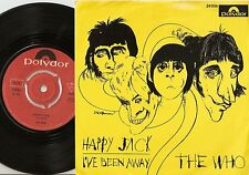 THE WHO HAPPY JACK & I`VE BEEN AWAY NORWAY 45+PS 1966 HIGH NUMBERS FREAKBEAT MOD