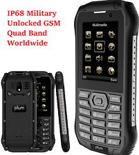 Rugged Unlocked Cell Phone 4G GSM IP68 Military Grade Water Shock Proof Dual Sim