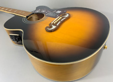 Epiphone EJ200SCE Vintage Sunburst Jumbo Westerngitarre