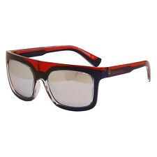 Diesel 55DSL - Blue & Red Ben Dover Classic Style Sunglasses with Case