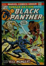 Marvel Comics JUNGLE ACTION #6 BLACK PANTHER 1st Appearance KillMonger VG/FN 5.0