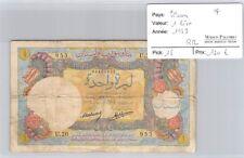 BILLET LIBAN - 1 LIVRE 1939 -  RR *