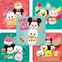 Tsum Tsum Stickers x 5 - Disney Tsum Tsum - Mickey Minnie Donald - Birthday Loot