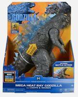 "PLAYMATES MONSTERVERSE GODZILLA VS KONG 13"" MEGA Godzilla WITH SOUNDS & LIGHTS"