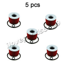 5x Oil Filters For GPX750R ZG1000 EL250 GPX600R ZX11 TRIUMPH THUNDERBIRD 750