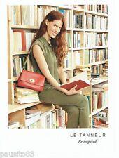 PUBLICITE ADVERTISING 106  2015   Le Tanneur collection sac