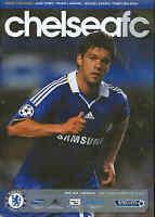 Football Programme - Chelsea v Arsenal - Premiership - 30/11/08