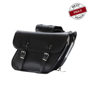 Quick release Motorcycle Saddlebag With Hard Sheet Inside & No Studs FOR YAMAHA