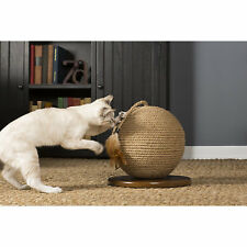 New listing Prevue Kitty Power Paws Cat Scratching Sphere w/Tassel