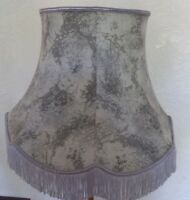 Vintage Large Fabric Lampshade Standard Lamp Shade Lightshade