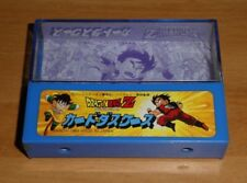DRAGON BALL Z DBZ CARD SEAL PRISM BOITE/BOX HARD CASE CARTE BANDAI JAPAN 1989 **