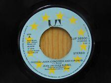 Jean-Jaques Burnel 45 Freddie Laker bw Ozymandias - United Artists M-