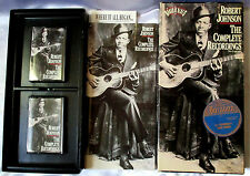 "RARE Robert Johnson Box Set - ""Complete Recordings"" Cassettes & Historical Book"