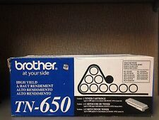 Original Genuine Brother TN-650 Toner Cartridge