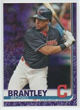 2019 Topps Series 1 #51 Michael Brantley CLEVELAND MEIJER PURPLE EXCLUSIVE